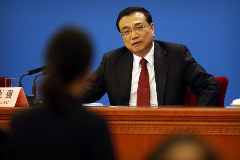 中國國務院總理李克強。(美聯社)