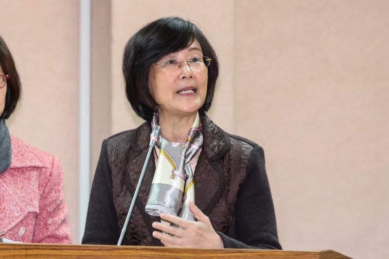 法務部長羅瑩雪於立院備詢。(顏麟宇攝)