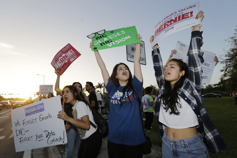 老將桑德斯(Bernie Sanders)吸引大批年輕人支持(美聯社)