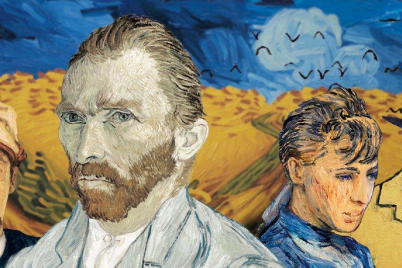 史上第一部手繪油畫電影《Loving Vincent》。(圖/Loving Vincent計畫官網)