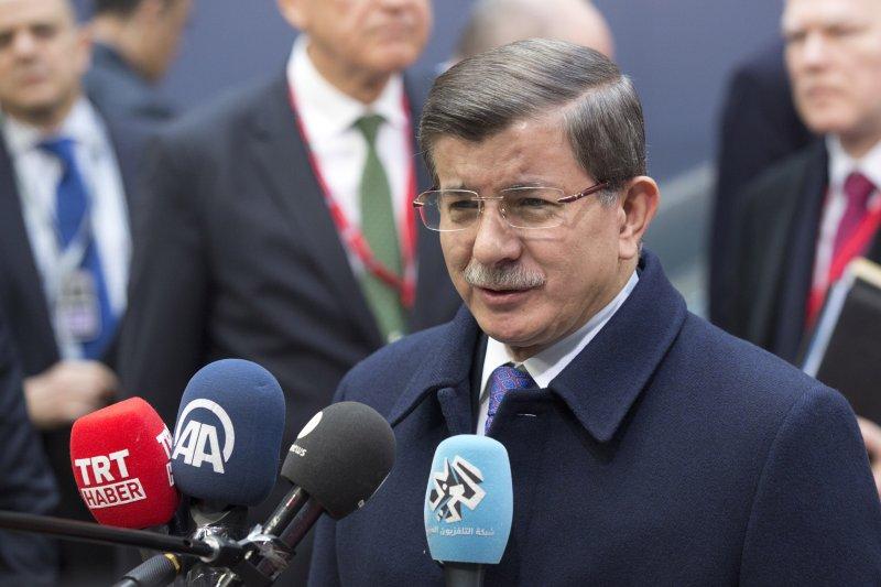 土耳其總理達武特奧盧(美聯社)