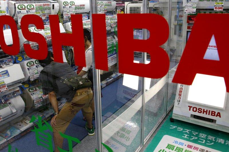 日本工業鉅子東芝公司(Toshiba)宣布將晶片事業優先賣給美日合資團隊。(美聯社)