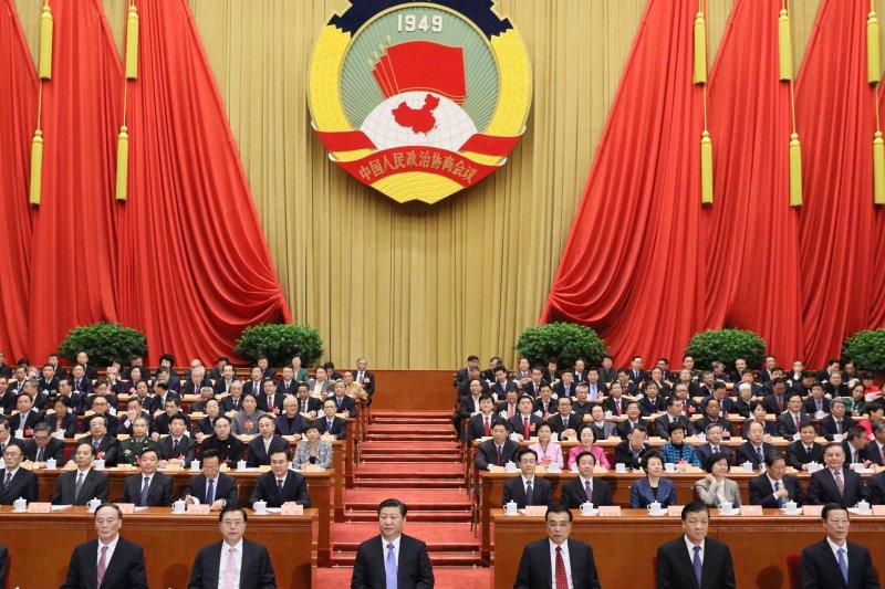 習近平的領導有可能陷入文革陷阱嗎?圖為3月14日,中國人民政治協商會議第十二屆全國委員會第四次會議在北京閉幕。(新華社)