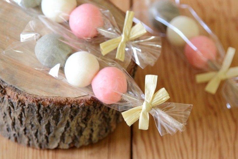 和菓子造型的香皂,感覺可愛又日系!(圖/Pinkoi)