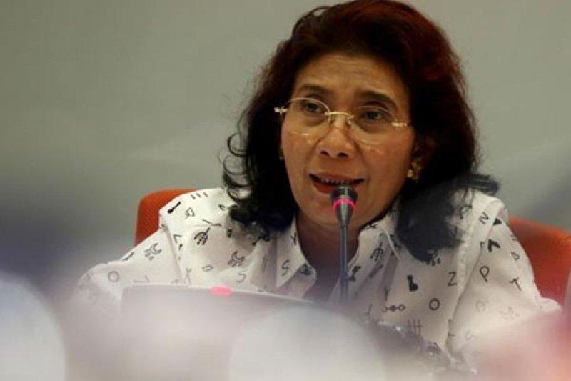 印尼海事暨漁業部長蘇西。
