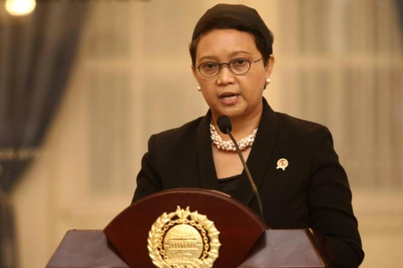 印尼外交部長雷特諾。