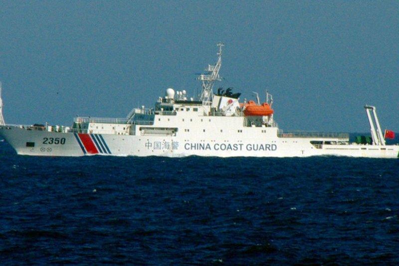 中國海警船。(新華社資料照)