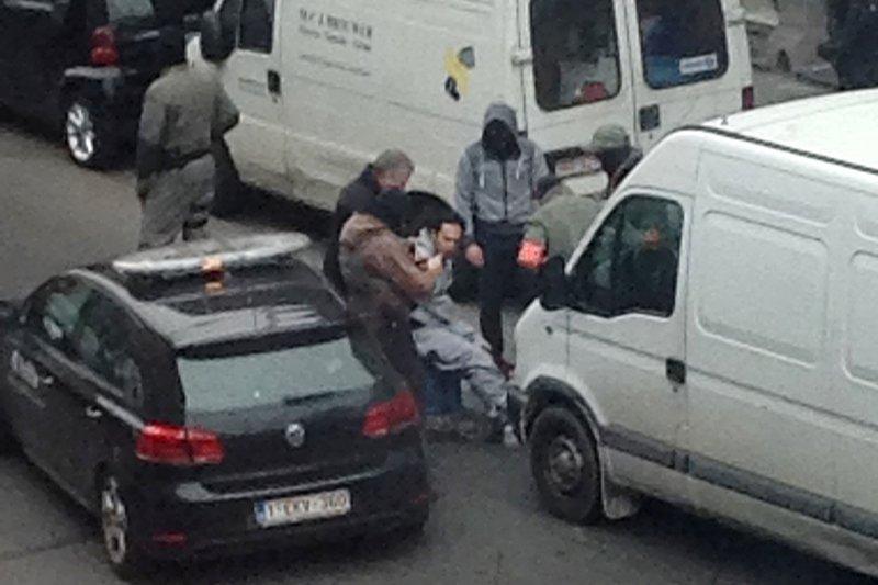 比利時布魯塞爾機場上午發生爆炸,已知1人死亡,多人受傷。(美聯社)