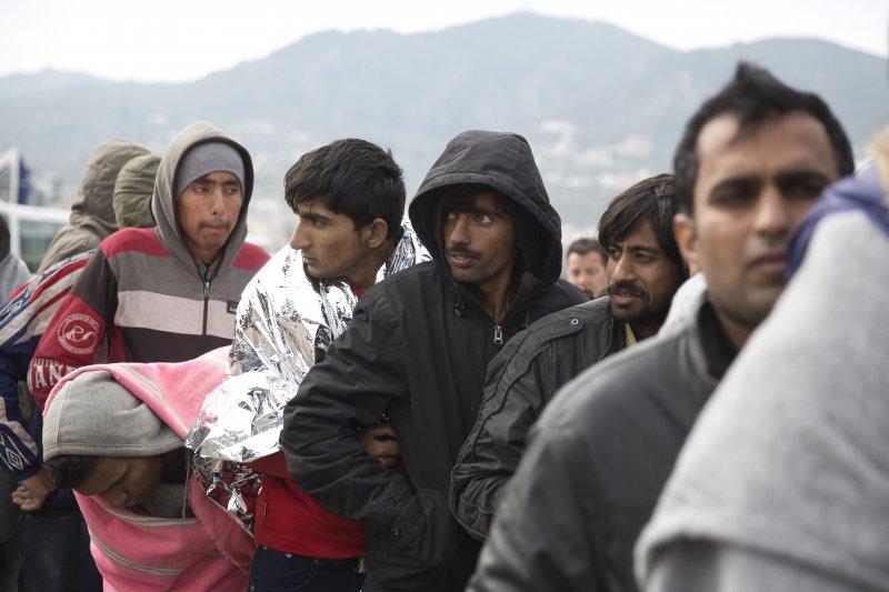 歐洲難民/移民潮(美聯社)