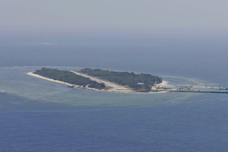 南海仲裁案12日下午結果出爐,裁定太平島不是「島」。(資料照,國防部)