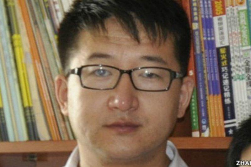 美國政府譴責了中國當局強迫維權律師張凱在電視上「認罪」的行為。(BBC中文網資料圖片)