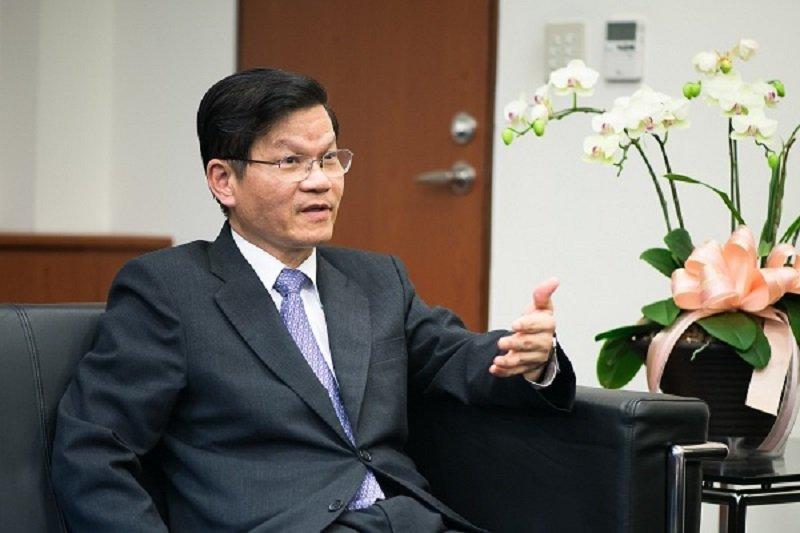 中研院長翁啟惠大概沒料到浩鼎案風波愈鬧愈大。(取自唐獎官網)