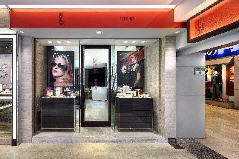 前衛眼鏡和卡地亞攜手合作,開設了全台灣也是北亞區首家眼鏡形象概念櫃。(圖/Cartier提供)