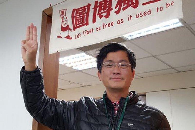 客委會副主委楊長鎮(見圖)建議,把中華民國國號的英譯,採用羅馬字母拼音成為「 Republic of Chunghua」。(資料照,取自楊長鎮臉書)
