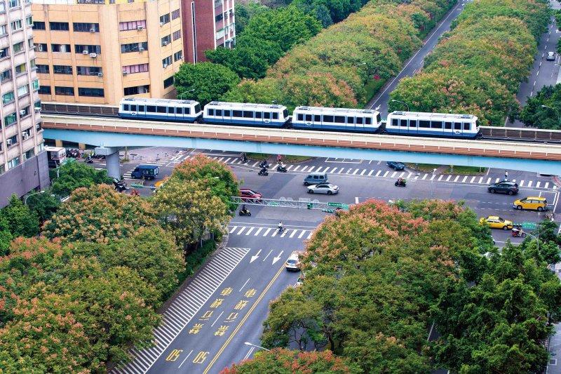 台北捷運20周年(台北市政府觀傳局)