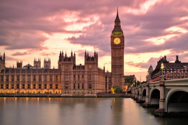 英國的著名地標-大笨鐘(圖/Thomas Fabian @Flickr)