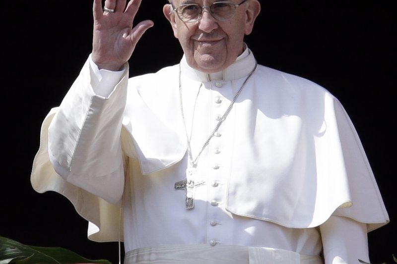 教宗方濟各表示,梵蒂岡正在「緩慢」地針對中共建國後切斷的梵中關係進行復交談判。(美聯社)
