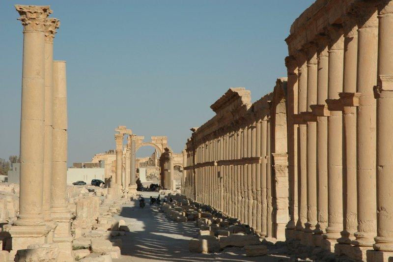 聯合國教科文組織(UNESCO)發布的帕米拉古城資料照。(美聯社)