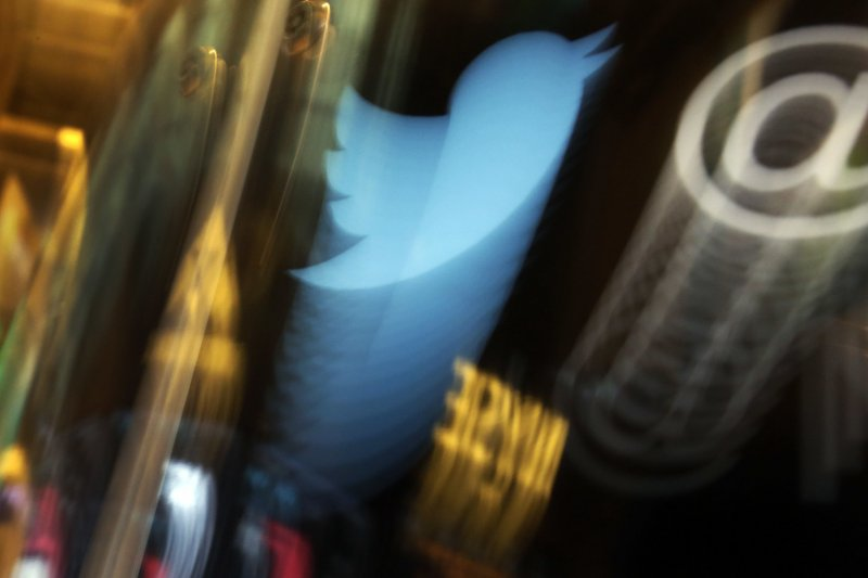 社群媒體推特(twitter)歡度上線10周年。(美聯社)