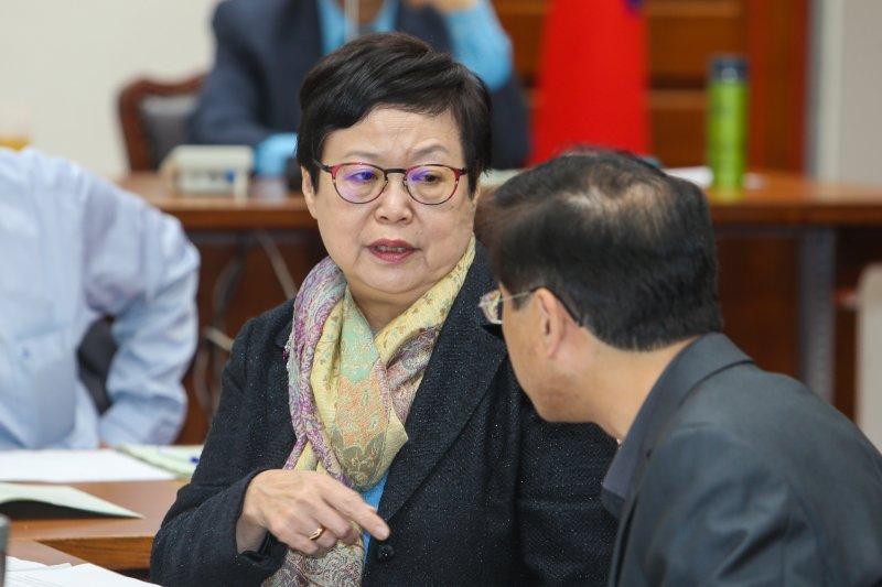 20160331-立法院委員會.故宮博物院院長馮明珠(陳明仁攝)