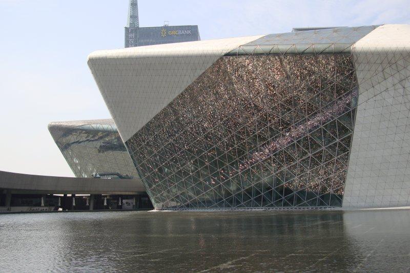 中國廣州的廣州大劇院(維基百科)