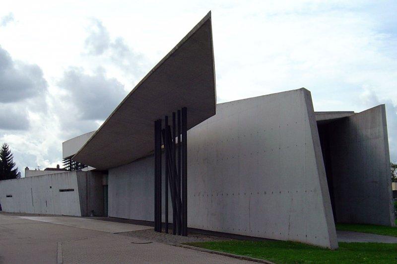 德國萊茵河畔魏爾(Weil am Rhein)的維特拉消防部(Vitra fire station)(維基百科)