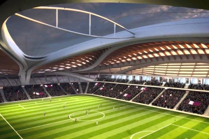 卡達(Qatar)的2022年世界盃(World Cup)足球賽主場館(取自網路)
