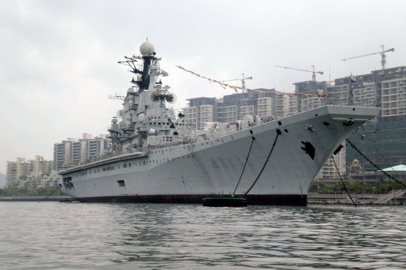 明斯克航空母艦。(翻攝維基百科)