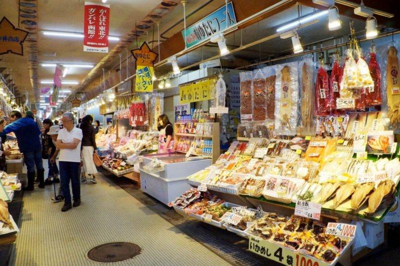 「函館朝市」成了許多遊客必訪景點之一(圖/MATCHA)