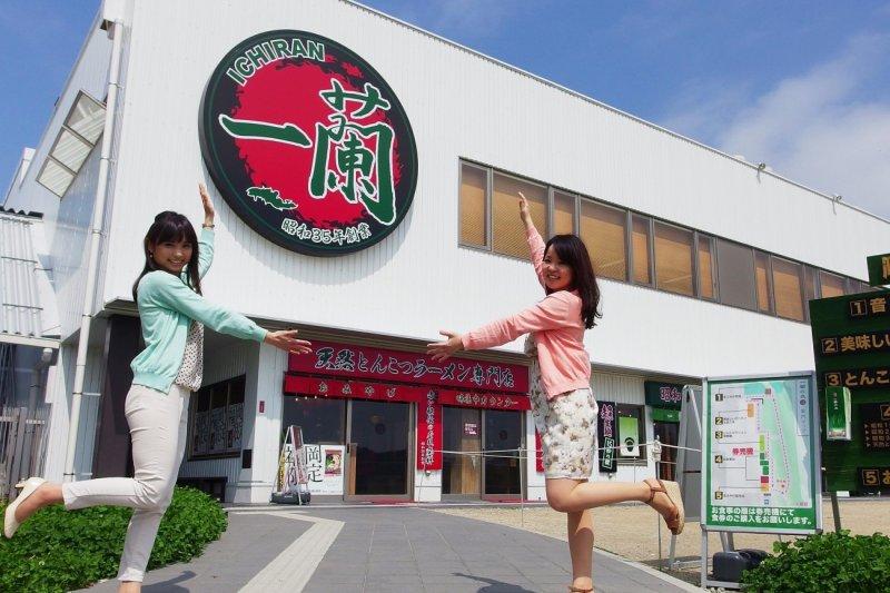 台灣人很愛的一蘭拉麵,也有觀光工廠可以參觀!(圖/MATCHA)