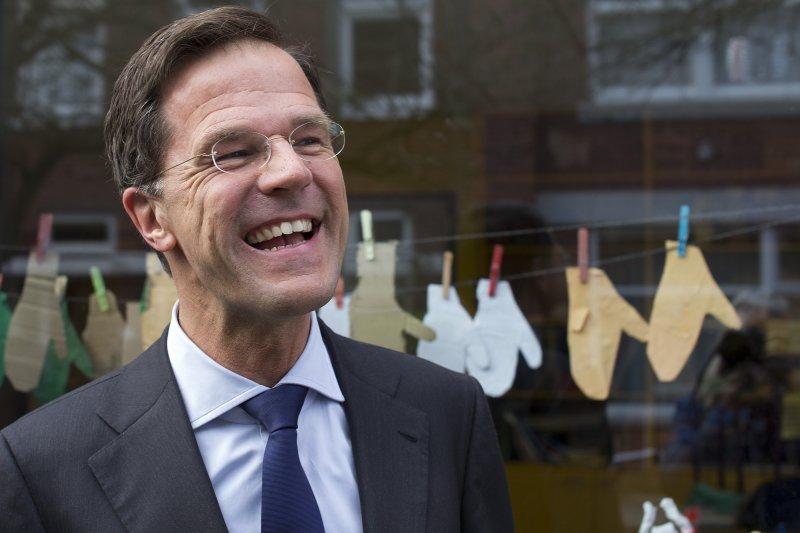荷蘭首相呂特(美聯社)