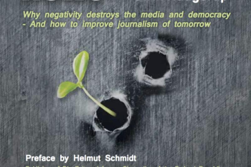 丹麥公視新聞總監烏瑞克.哈格洛普著作「建設性新聞」(Constructive News) 。(取自建設性新聞官網)