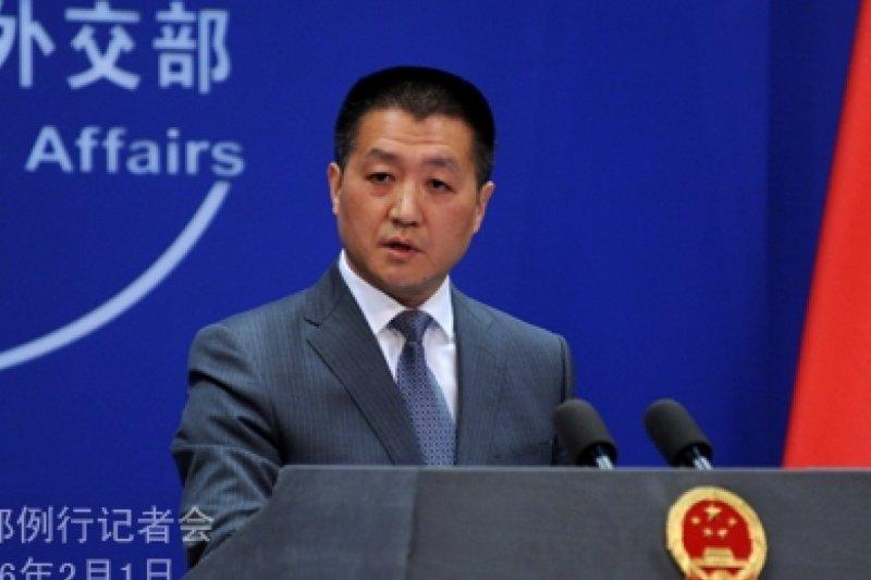 中國外交部發言人陸慷(取自網路)