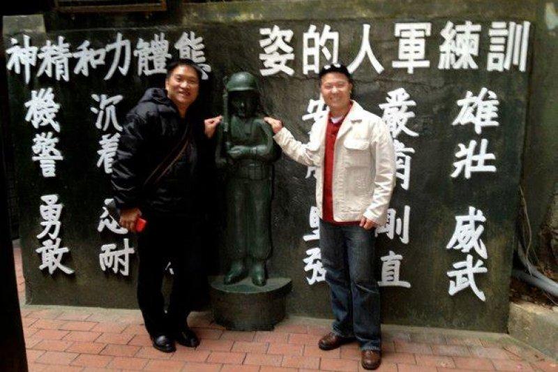 2011年愛德華.林在台灣旅行照片(取自臉書)