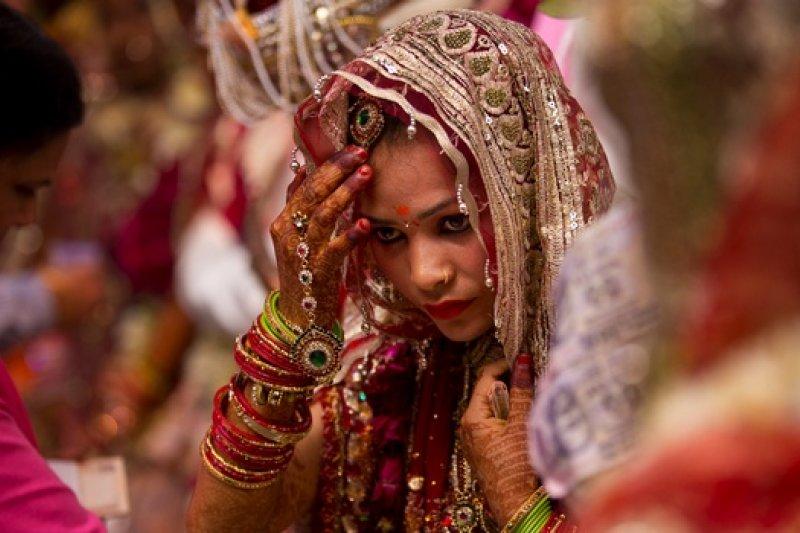 印度婚禮。