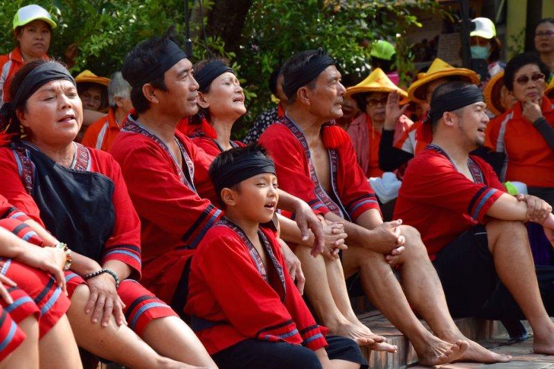 大武壠族人走出八八水災傷痛 發揚部落文化(圖為大滿舞團)