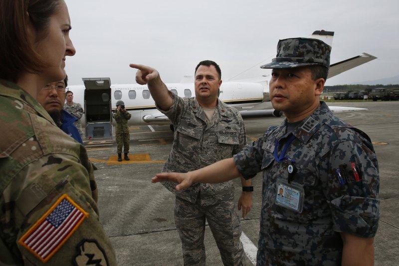 日本九州熊本大地震,駐日美軍加入救援(美聯社)