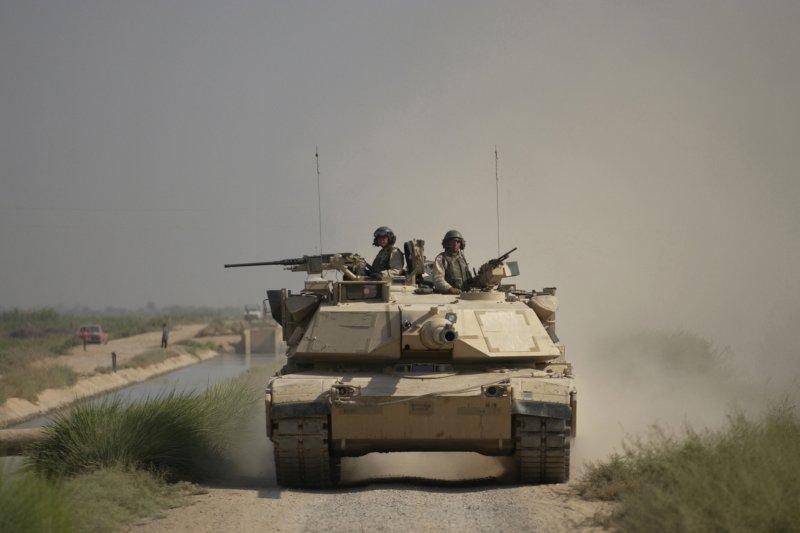 陸軍原先想像美國購買二手M1A1戰車,但遭否決。(美國國防部網站)