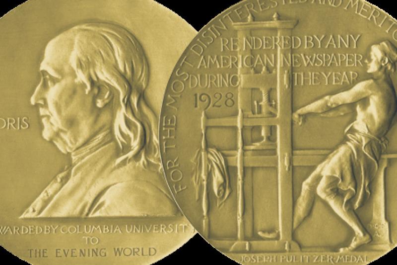 2016年普立茲獎18日公布得獎名單。(取自官網)