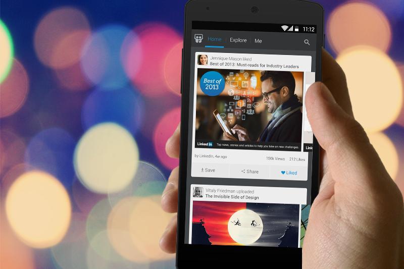 LinkedIn推出學生版本了,即將踏入社會的你,快下載來使用!(圖/LinkedIn@facebook)