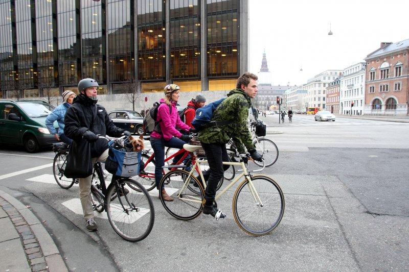 丹麥的哥本哈根是歐洲的自行車之都。(圖來源:高雄市政府)
