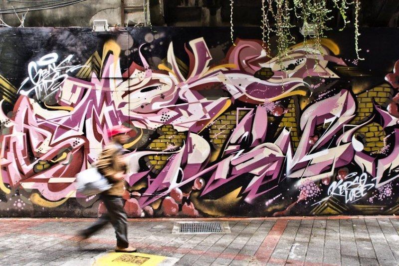 塗鴉真的是破壞城市環境嗎?還是可以成為藝術? (圖片由攝影師─吳俊毅提供)