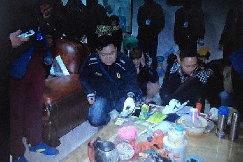 貴州省公安廳破獲一起特大電信詐騙案,首腦都是台灣人。(微博)