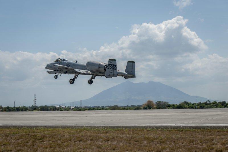 美國空軍A-10C「雷霆二式」攻擊機(A-10C Thunderbolt II)(美國空軍)