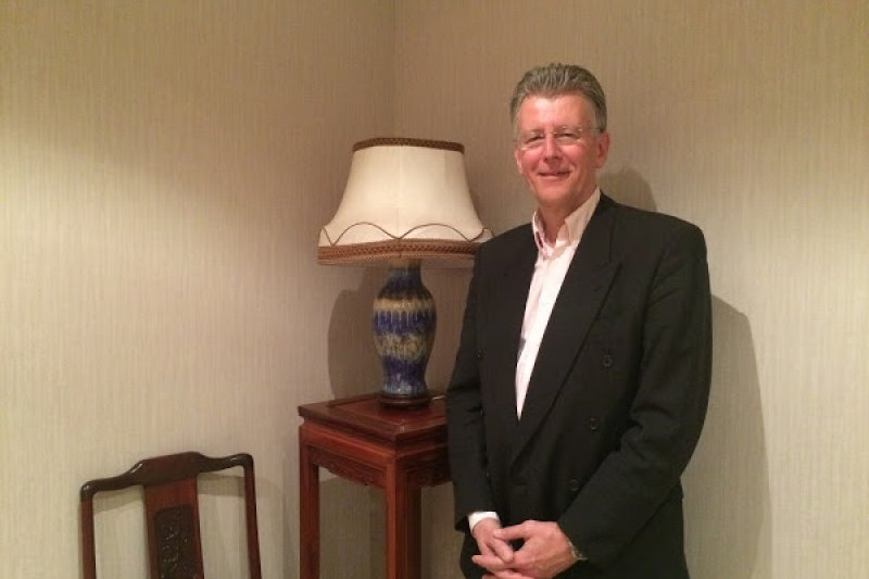 「Wi-Fi之父」,現為無線通訊技術 ZigBee 晶片開發商 GreenPeak 創辦人的林克思(Cees Links)。(圖/蘇宇庭)