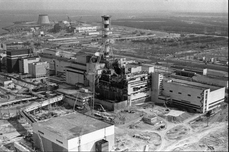車諾比核電廠。(美聯社)