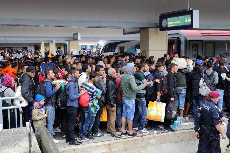 歐洲難民潮讓大批難民湧入德國尋求庇護,引發族群矛盾。(圖/wikimedia)
