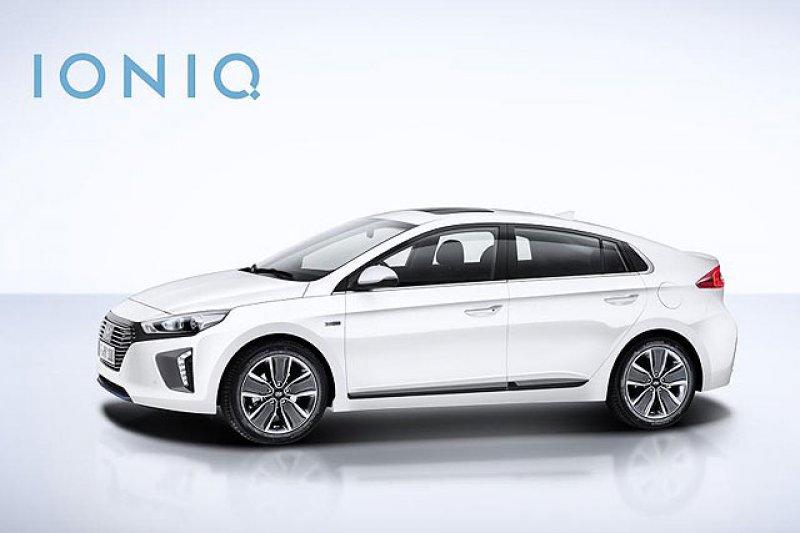 現代推出的電動車IONIQ