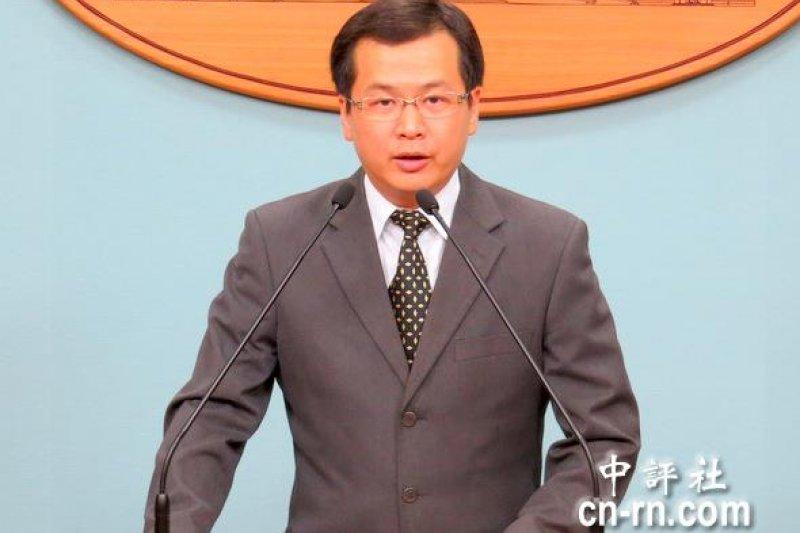 總統府前副祕書長羅智強。(中評社)