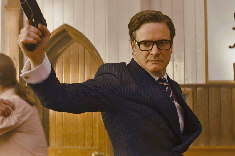 「槍」在熱門電影裡從不缺席(圖/Kingsman: The Secret Service@facebook)